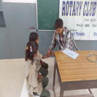 March 16-13 Medical camp @Nirmala School